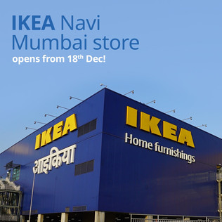 IKEA's second physical store opens in Mumbai tomorrow