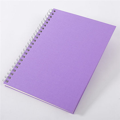 Linen Ring Bind Notebook