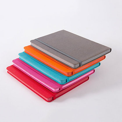 Canvas A5 Color Edge Hard Leather Notebook