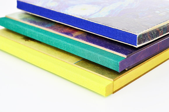Grey Board Color Spine Notebook