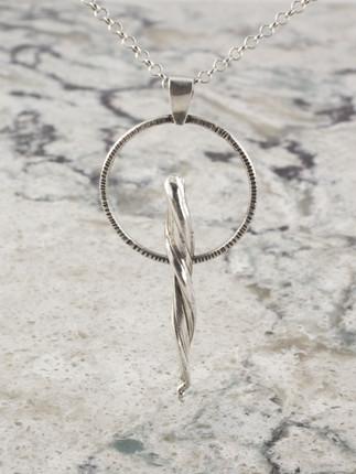Dancing Lucky Horn Necklace