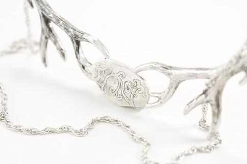 Elk Ivory Trophy Necklace