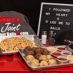 Ball Party Platters