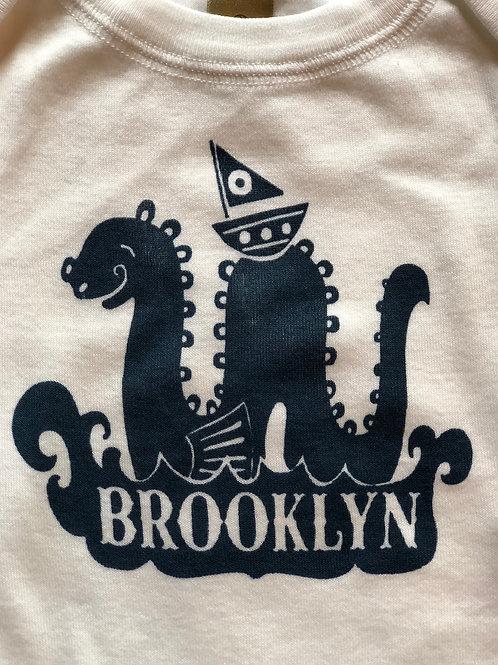 Newborn Brooklyn Onesie Lovely Little Monster