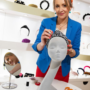Irish Milliner Emily Jean Launches New Turband Collection
