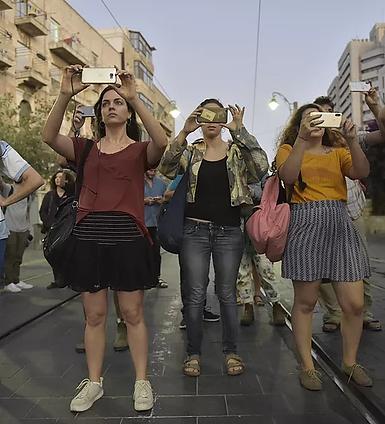 סיור בירושלים - סטודנטים מסם שפיגל