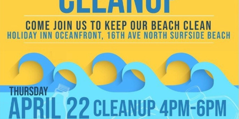 Earth Day Beach Cleanup with Saving Oceans Org!