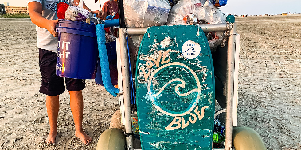 ATLANTIC CITY BEACH CLEANUP