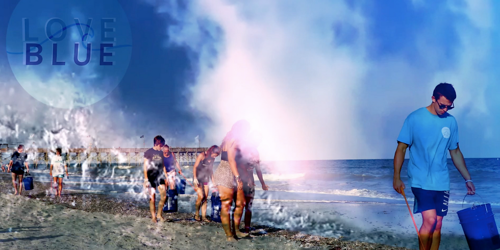 LOVE BLUE BEACH BASH EVENT