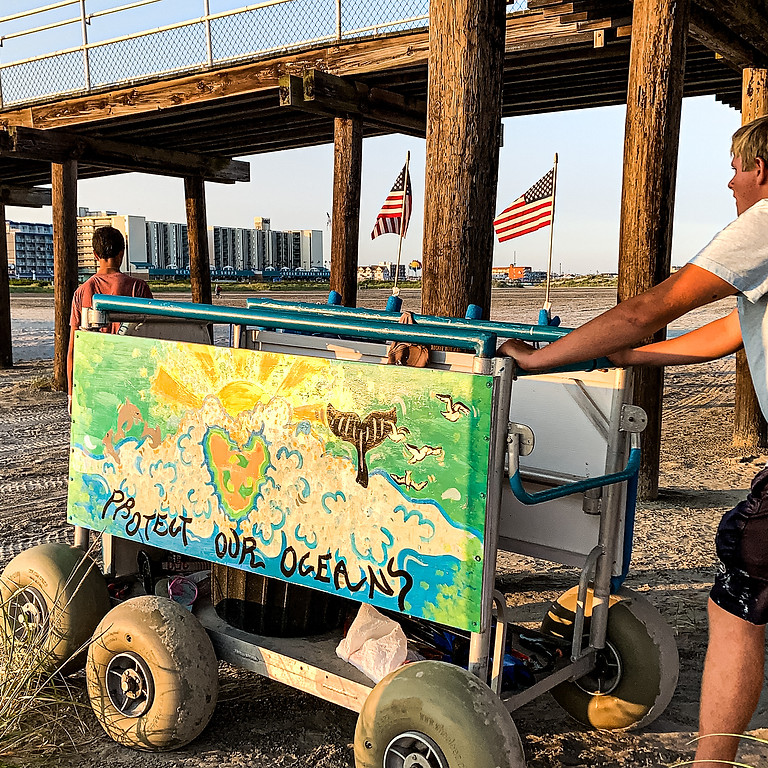 Wildwood Crest Beach Cleanup #9