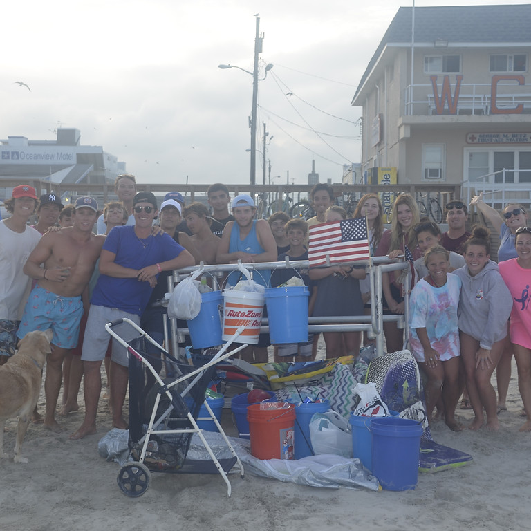 Wildwood Crest Beach Cleanup #2