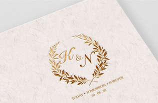 K&N Wedding Monogram