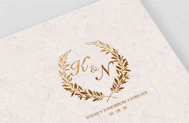 K&N Wedding Monogram