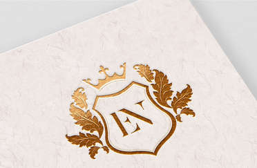 EN Wedding Monogram