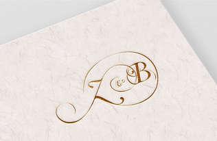 Z&B Wedding Monogram