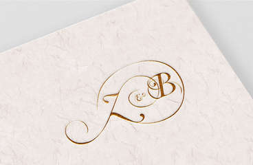 Z&B Wedding Monogram