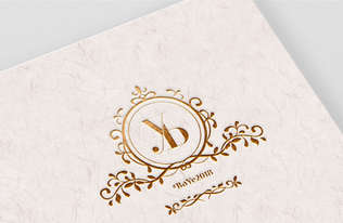 Y&B Wedding Monogram
