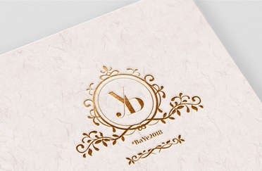 Y&B Wedding Monogram