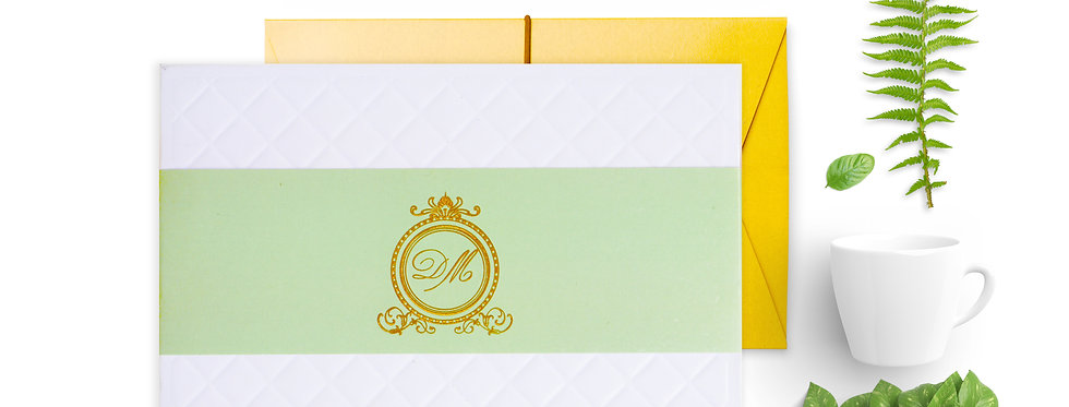 MMO Open Book - Hardcover Wedding Invitation