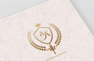 A&A Wedding Monogram