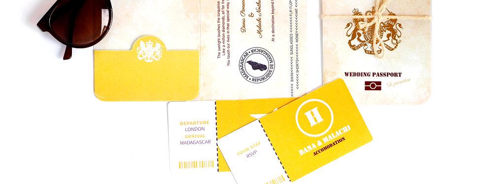 MMO Passport - Wedding Invitation