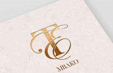 TE Wedding Monogram