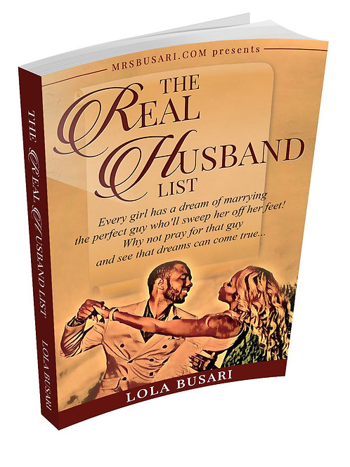 The Real Husband List - BOOK