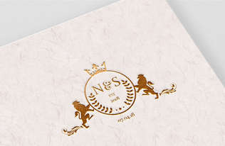 N&S Wedding Monogram