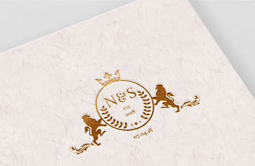 N&S Wedding Monogram