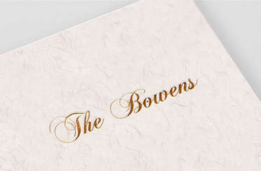 The Bowens Wedding Monogram