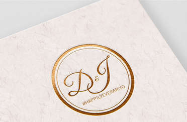 D&J Wedding Monogram