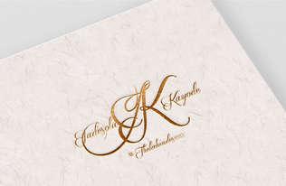 J&K Wedding Monogram