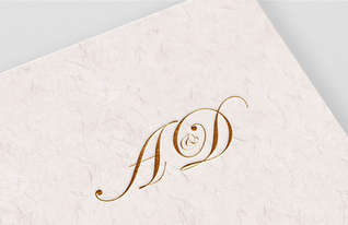 A&D Wedding Monogram