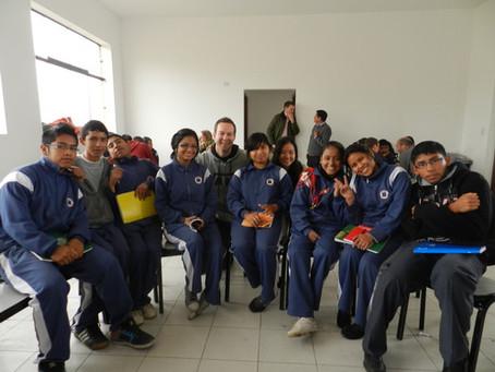 Eye-opener in Pachacutec, Lima.