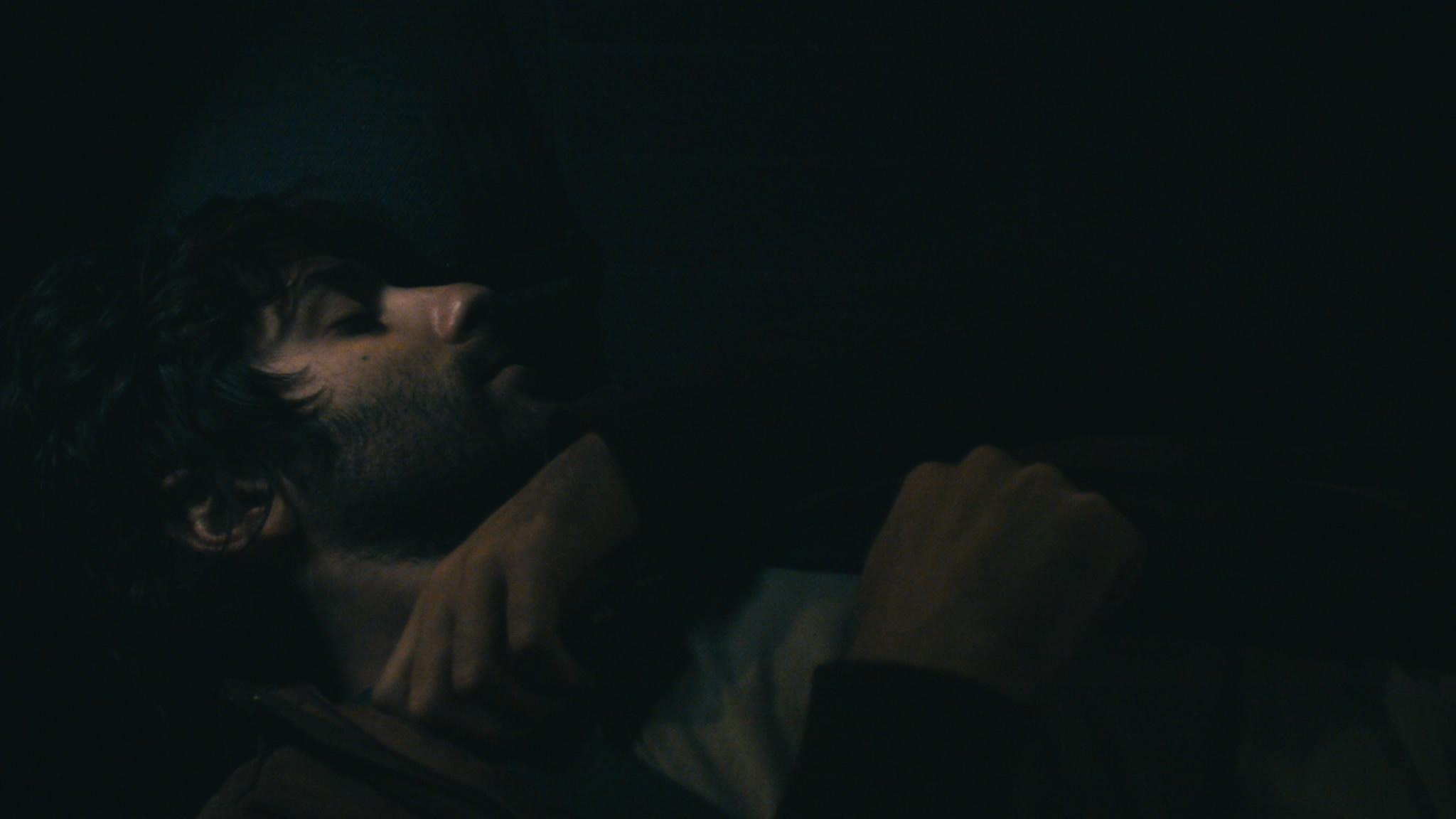 Hertzel sleeping