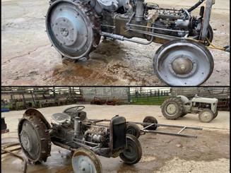 1942 Steel Wheel Tractor