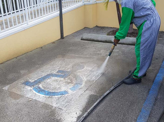 Line paint removal