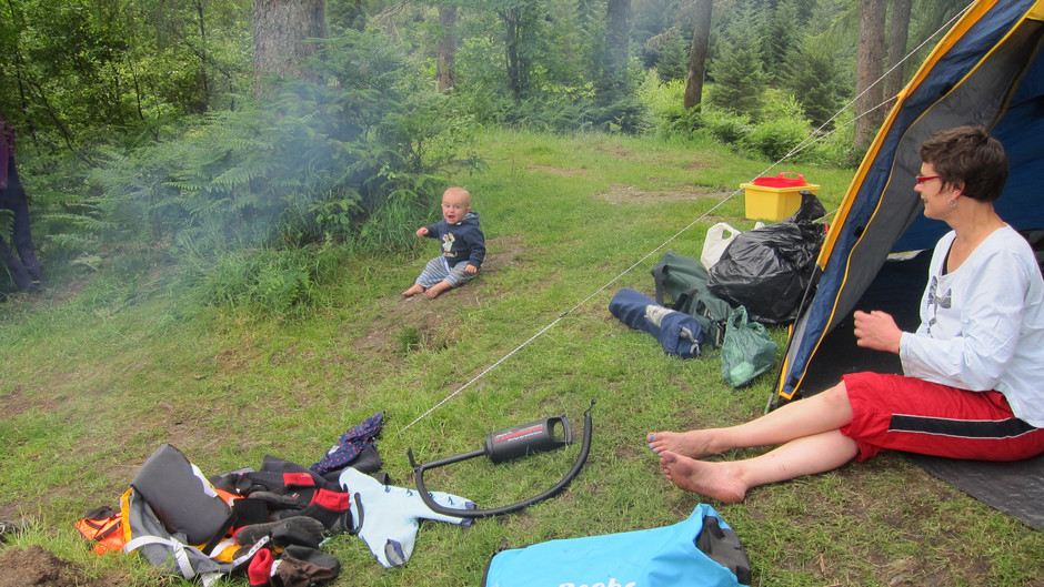 The Completely Non-Definitive Camping Guide with a Baby or Toddler