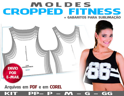 MOLDE CROPPED FITNESS