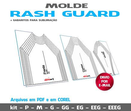 MOLDE RASH GUARD