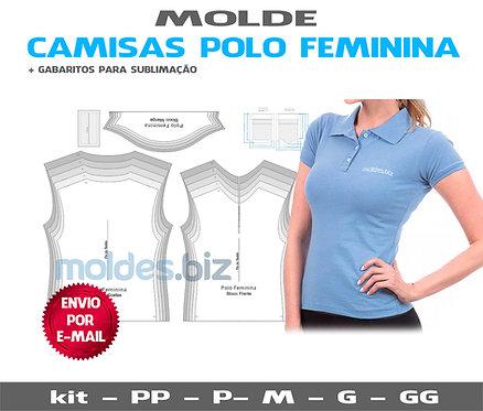 Molde Polo Feminina