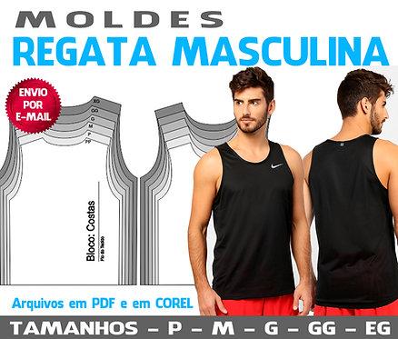 MOLDE REGATA MASCULINA