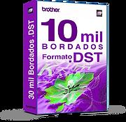 10 mil Matrizes de bordado DST
