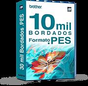 10 mil matrizes de bordados PES