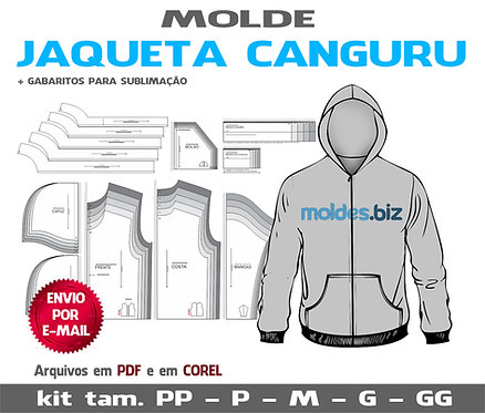 Molde Jaqueta Canguru