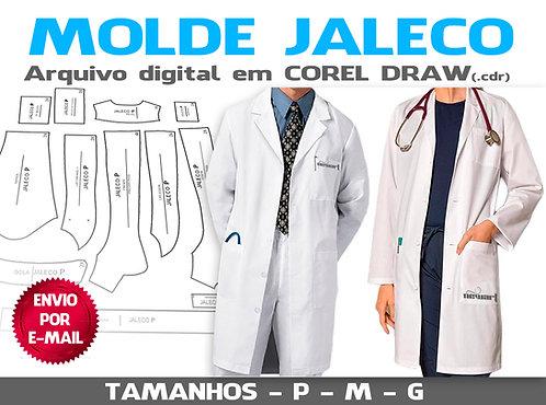 MOLDE JALECO UNISEX