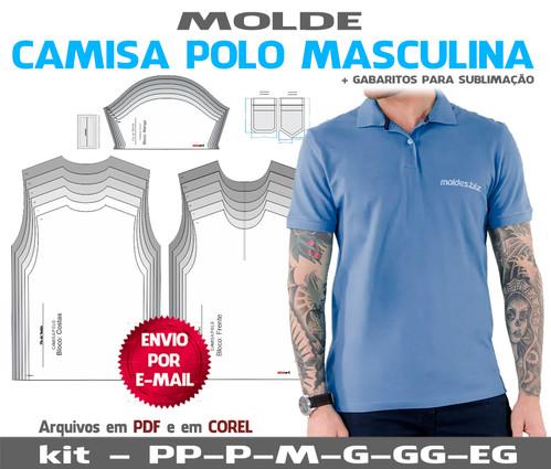 630ab9856a3cc molde camiseta longline masculina
