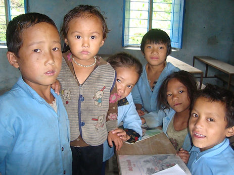 local  primary school's students at clas