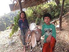 Nagarkoti01, Thulikanchhee's children wi