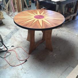 Sun burst Gaming Table